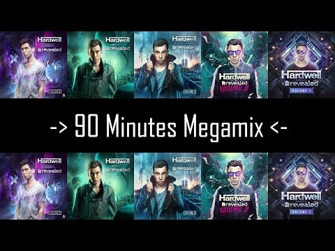 """Messing Up """"Hardwell Presents Revealed 3 to 7"""" - 90 minutes mix of almost all tracks"""