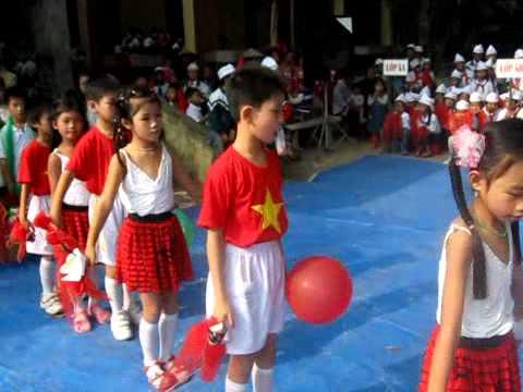 """Hát múa """"Tiếng hát bạn bè mình"""" - Lớp 3A - TH Hoàn Long - Yên Mỹ - Hưng Yên"""