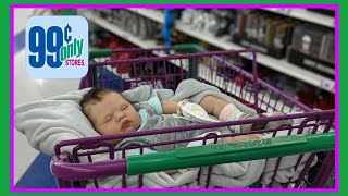 Reborn Baby Outing to 99 Cents Only Store | Realistic Baby Doll | nlovewithreborns2011