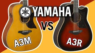 Yamaha A3M vs A3R Comparison