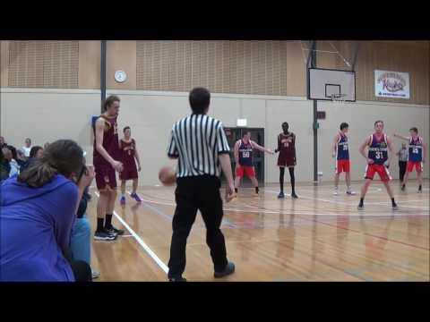 Matthew Collins #20 Ballarat tournament   Geelong Supercats vs Melton Thoroughbreds 2015