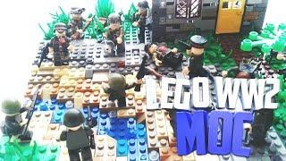 Lego ww2 MOC Мадонская операция   Лего самоделка по Второй Мировой войне