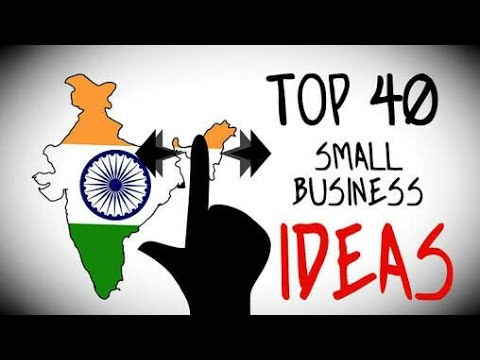 Top 40 Small Business Ideas🤖
