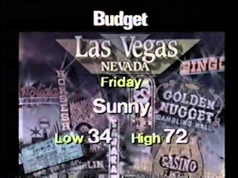 The Weather Channel Business Travel Forecast 1994