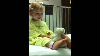Toddler Sleep Apnea Pre-Surgery in the Hospital - Obstructive - 2 Years Old