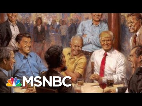President Donald Trump Has Added Some Interesting Art To The White House   All In   MSNBC