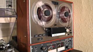 Astrud Gilberto - Light My Fire (Teac A-4010 s Reel To Reel)