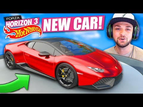 GUYS - CHECK OUT MY BRAND NEW CAR! 🚗😍 - Forza Horizon 3 (HOT WHEELS DLC)