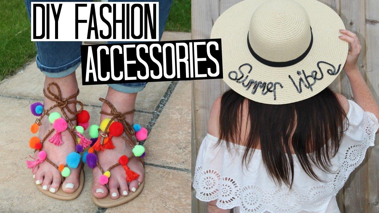 DIY Pom Pom Sandals   Slogan Sun Hat - Easy   Affordable!  d007e10b3b5