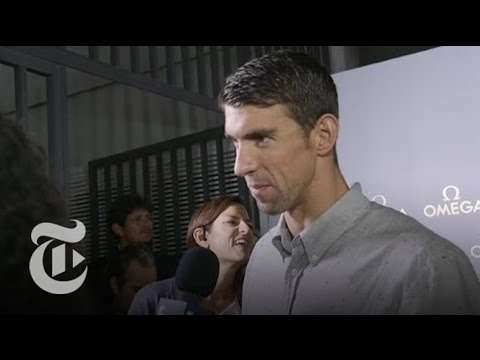 Michael Phelps on Olympic Swimming Career | Rio Olympics 2016 | The New York Times