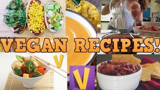 Top 3 Vegan Recipe Channels