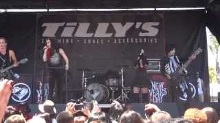 "New Years Day - ""Death of the Party"" (Live in San Diego 6-19-13)"