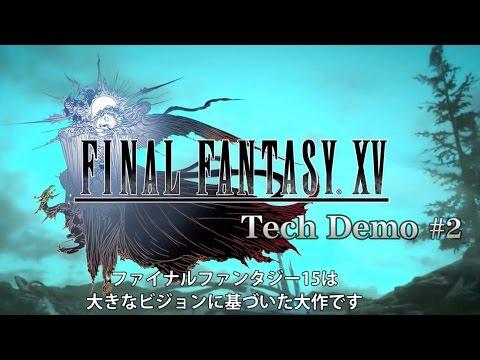 final fantasy tech demo 1080p vs 720p