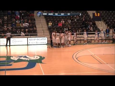 GC MEN'S BASKETBALL: Augusta University vs. Georgia College