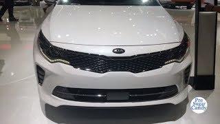 2018 KIA Optima SXL - Exterior and Interior Walkaround - LA Auto Show