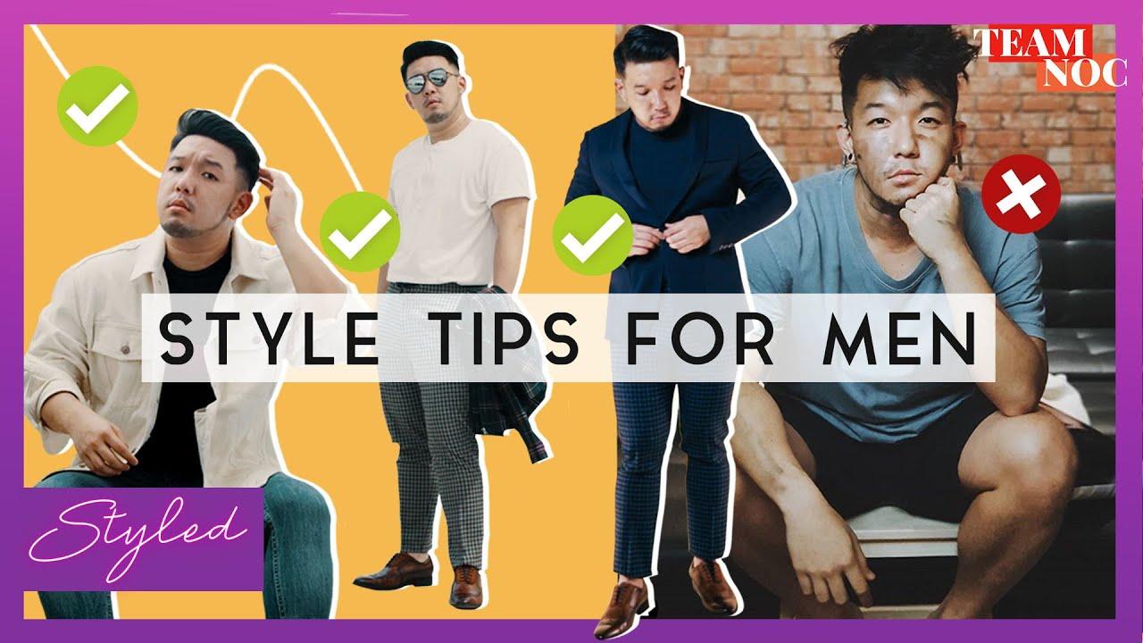 Style Tips For MEN!