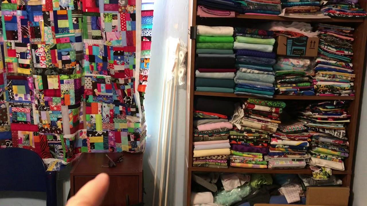 How To Organize Fabric Stash