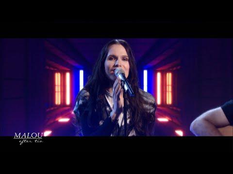 "Maja Kristina med låten ""Idiot"" - Malou Efter tio (TV4)"