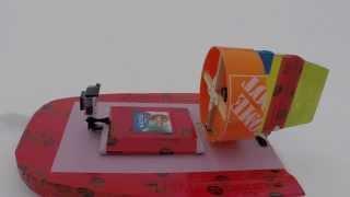 Rc Airboat 1 Hp Snow Speeder Skimmer Gopro Hero 4