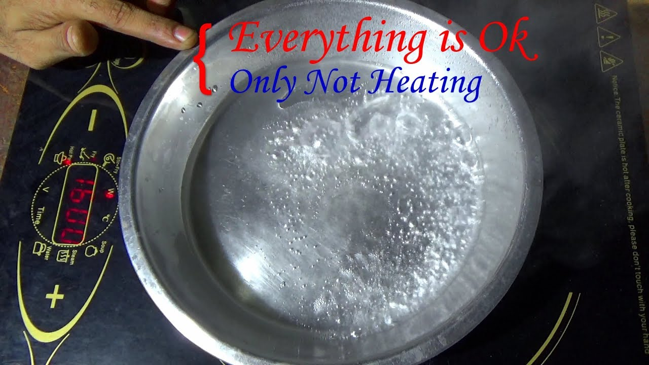 How To Repair Not Heating Problem Of Induction Cooker Part 1 Circuit Board N08 Buy Bo Bengali Tutorial