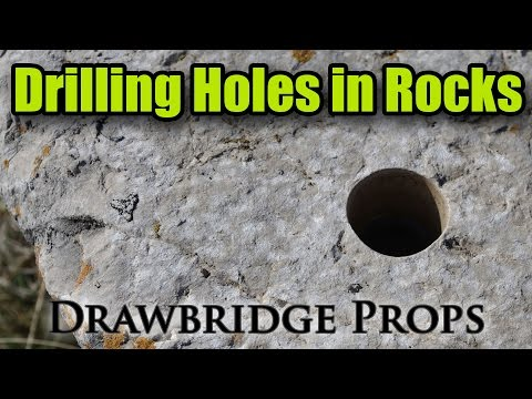DE - Drilling Holes in Rocks