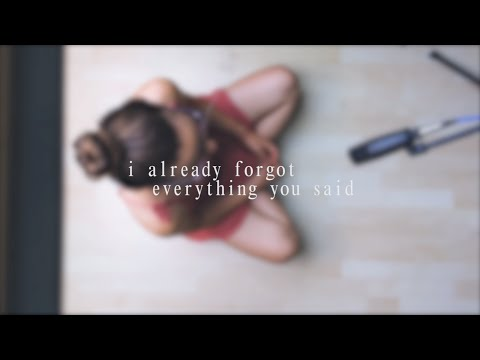 The Dig || i already forgot everything you said || cover by Klara