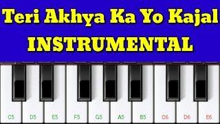 Presenting teri aakhya ka yo kajal haryanvi song piano instrumental. watch my latest videos - humein tumse hua hai pyar https://youtu.be/gvu0zaa5i9e prada so...