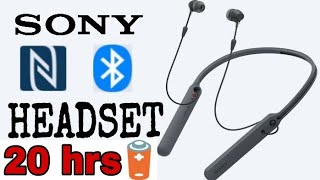 Sony Bluetooth Headset Unboxing & full review | WI-C400