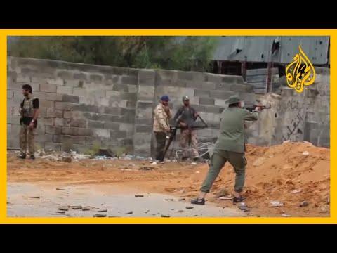 طائرة حربية تستهدف قاعدة الوطية التابعة للحكومة الشرعية في ليبيا????  - نشر قبل 2 ساعة