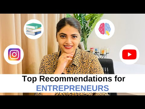FREE RESOURCES FOR ENTREPRENEURS || May Month Recommendations Books, Podcast, Courses & YT Channels