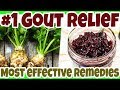 TOP 3 Herbal Supplements to Heal GOUT. Natural GOUT Treatment/RELIEF Removal of Crystals Joints