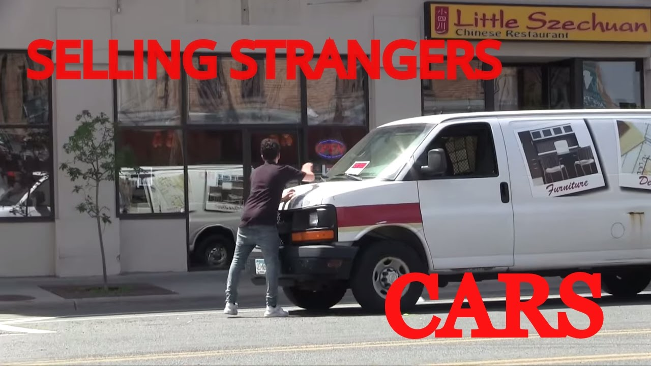 PUTTING FOR SALE SIGNS ON RANDOM CARS MUST WATCH YouTube