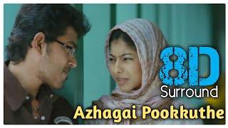 Azhagai Pookkuthe 8D   Ninaithaale Inikkum   Vijay Antony   Shakkthi    Anuja Iyer   8D BeatZ