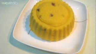 Eggless Microwave Mango Fruit Cake