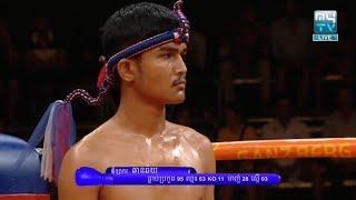 Meas Socheat vs Chharnchhai(laos), Khmer Boxing MY TV 18 May 2018, Kun Khmer vs Muay Thai