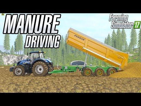 Manure Driving in Goldcrest Valley