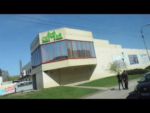 Въехали в Черняховск до автовокзала Калининградская область - 20 апреля 2018