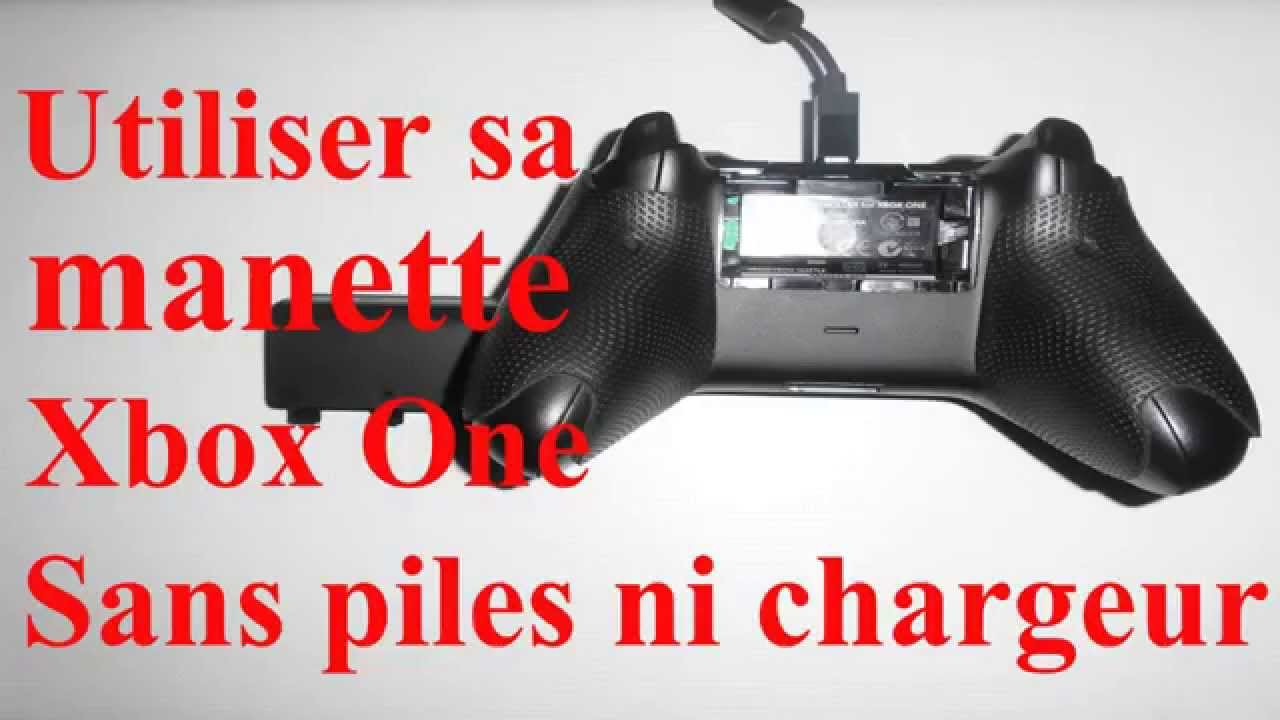 Batterie Manette Xbox One