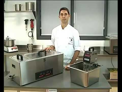 sammic sous vide equipment
