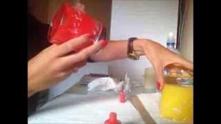 Blog Eu Faco Sozinha   Pintando vidro com esmalte