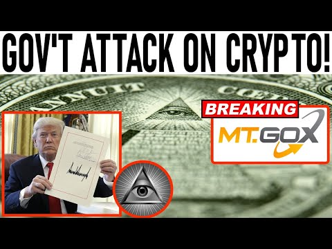 GOV'T ATTACK ON CRYPTO! BREAKING: MT GOX TRANSFER NEWS! THIS SHOWS 2017 BITCOIN MOON MODE IS COMING!