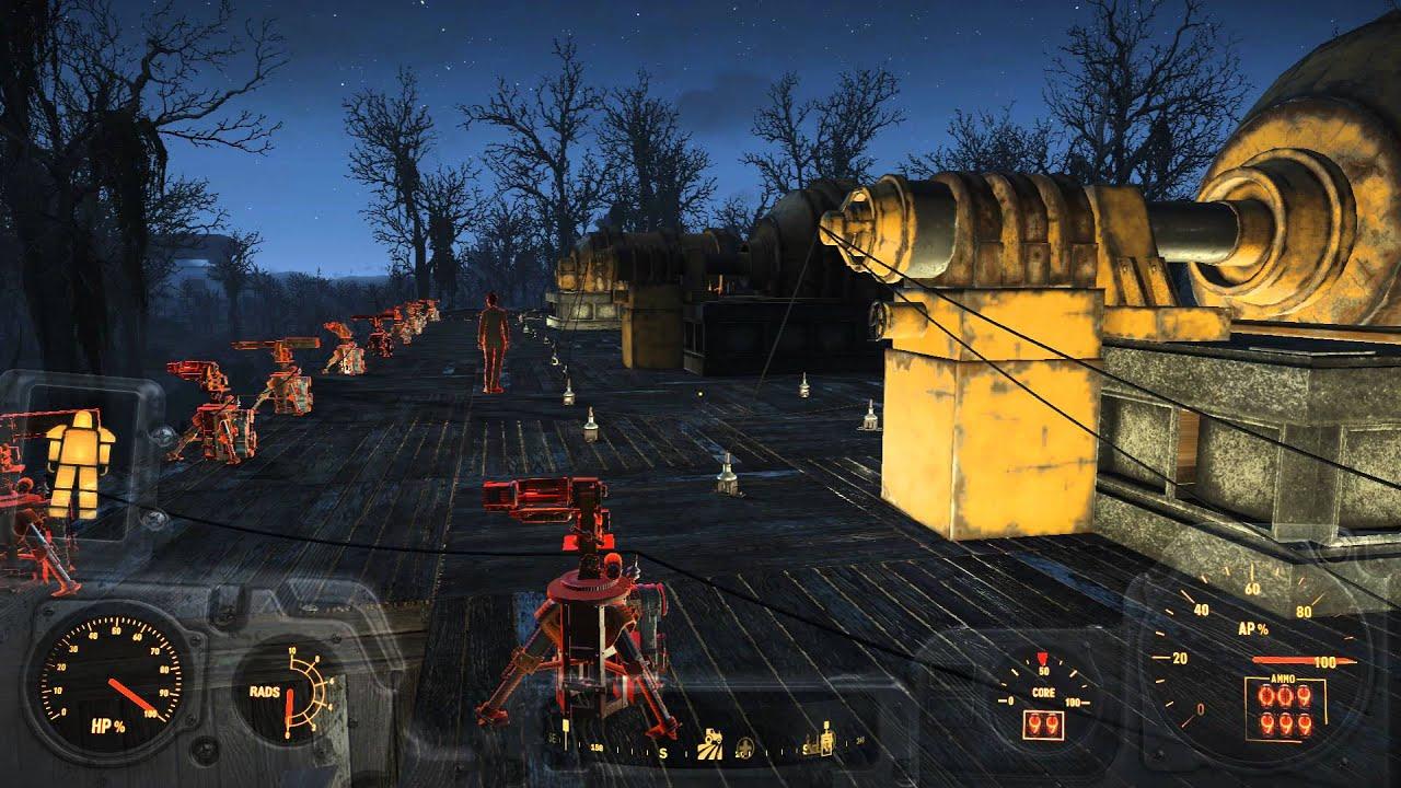 Fallout 4 Greentop Nursery Settlement Base Tour