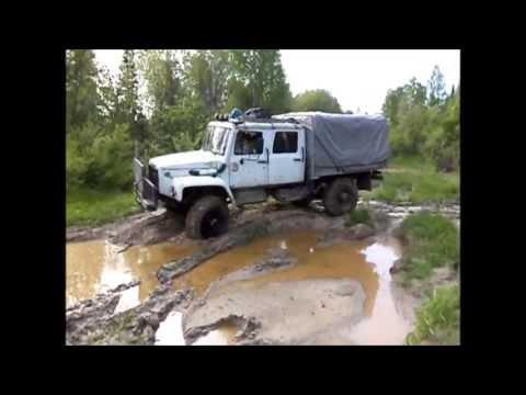 ГАЗ 3308 #15 р. Пиимза, лесопромысловый участок Майзас