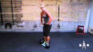 Unapologetically Powerful Demo: Kettlebell Double Suitcase Deadlift