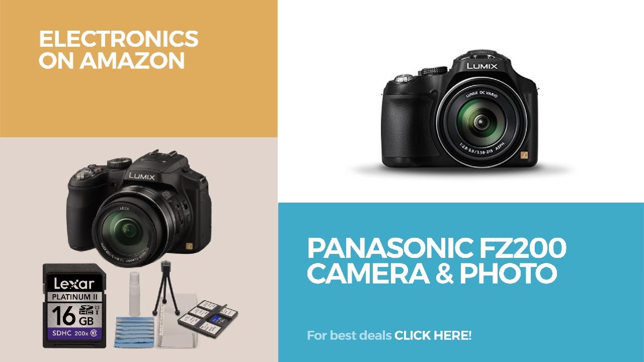 Panasonic Fz200 Camera Photo Electronics On