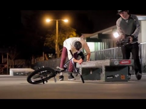 Long Beach Cherry Park BMX Video