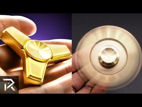 10 Expensive Fidget Spinners Only The Richest Can Afford