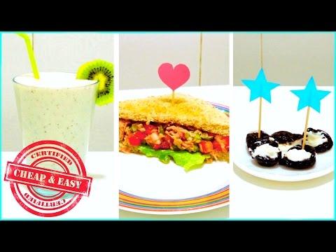 DIY Healthy & Yummy SNACKS Under 100 Calories!?(Cheap & Easy)