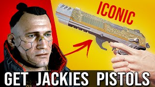 GET JACKIE'S GUN in Cyberpunk 2077 - Iconic Pistol Weapon Location!
