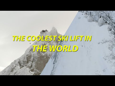 THE COOLEST SKI LIFT IN THE WORLD - MountainVLOG 2